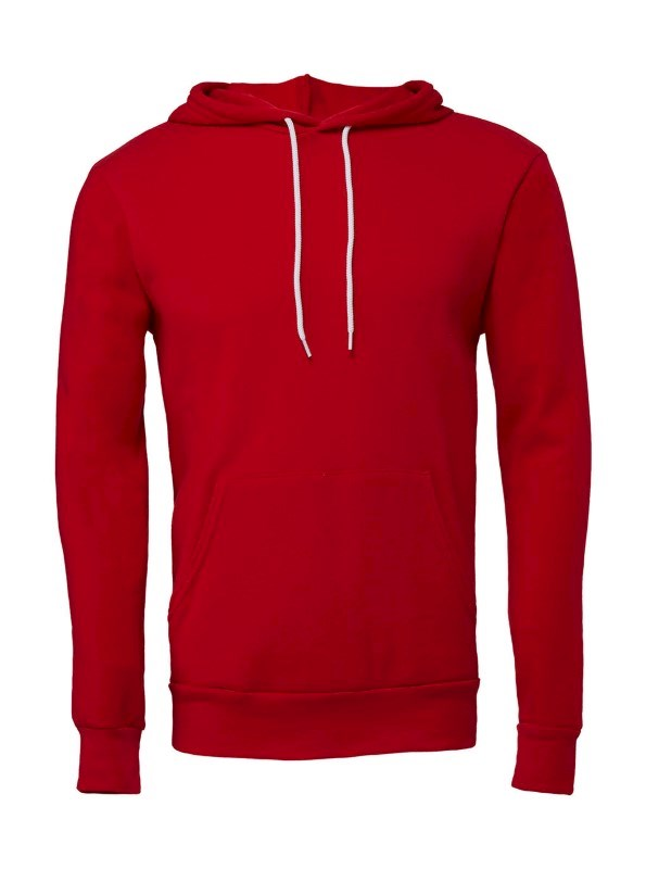 Unisex Poly-Cotton Pullover Hoodie