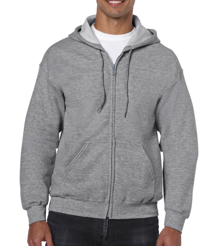 Heavy Blend Adult Full Zip Hooded Sweat