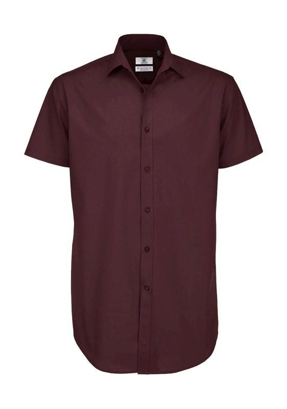 Black Tie SSLmen Poplin Shirt