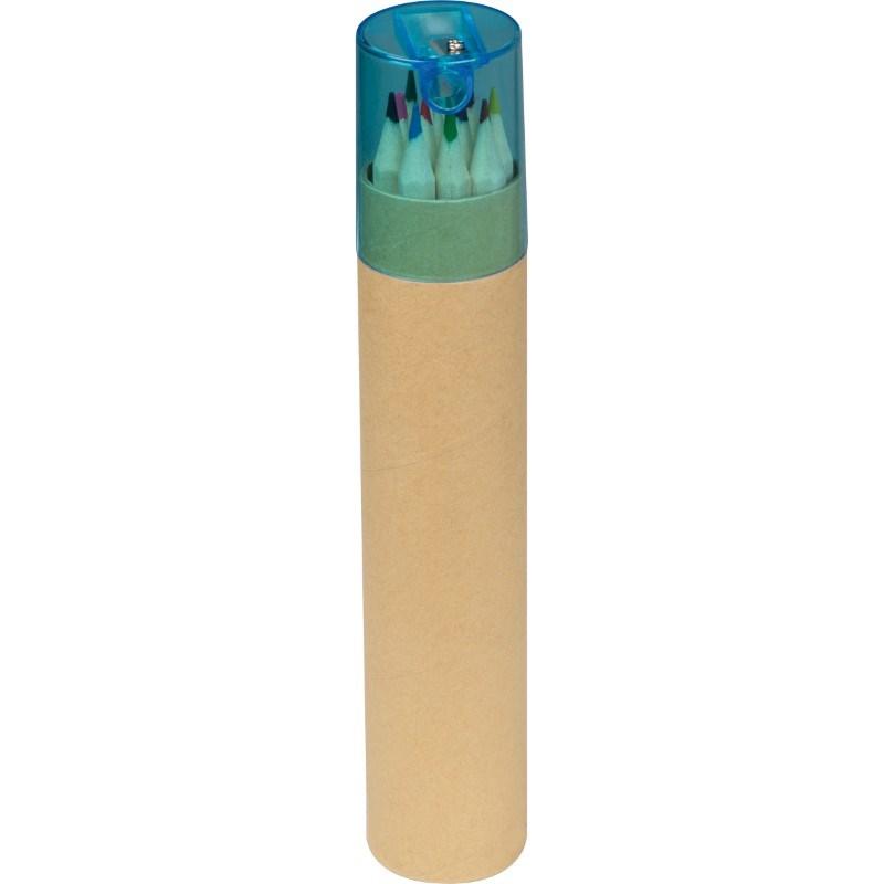 12 gekleurde potloden met...