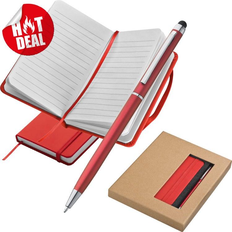 Set met boekje en pen
