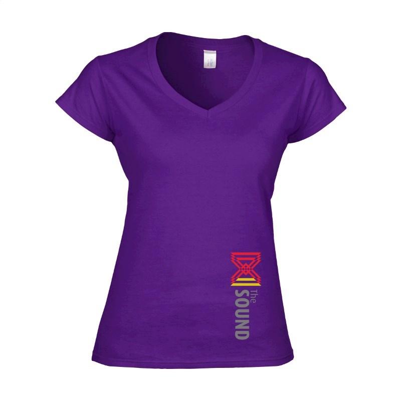 Gildan Standard V-neck dames T-shirt