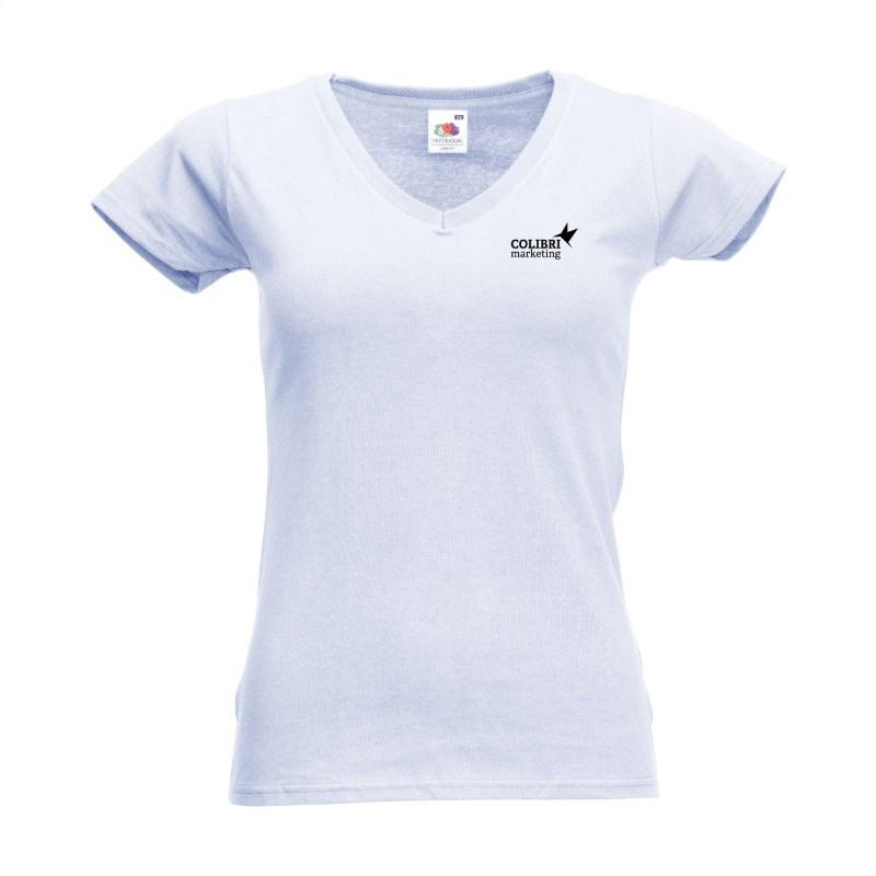 Fruit Imago V-neck dames T-shirt