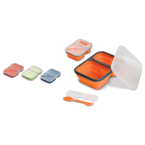 Opvouwbare siliconen lunchbox