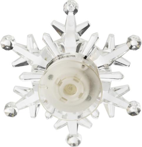 Sneeuwvlok met led verlichting