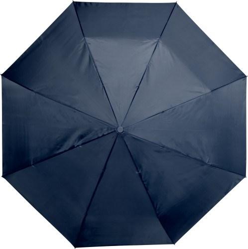 Automatisch polyester paraplu met kunststof handvat