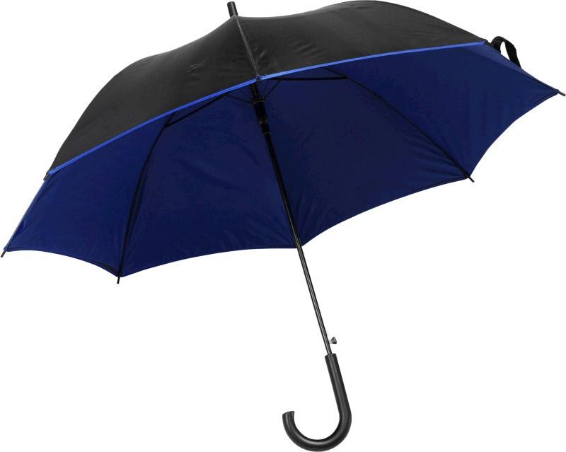 Automatische polyester paraplu met 8 panelen.
