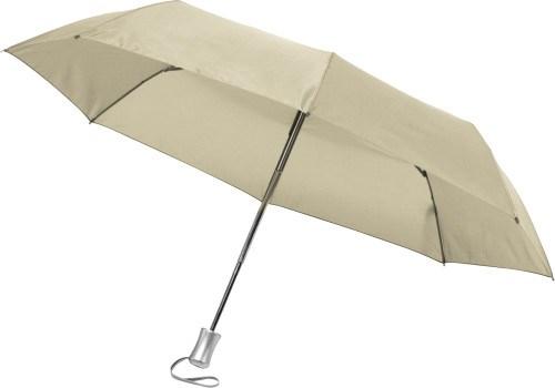 Opvouwbare automatische paraplu in een hoes