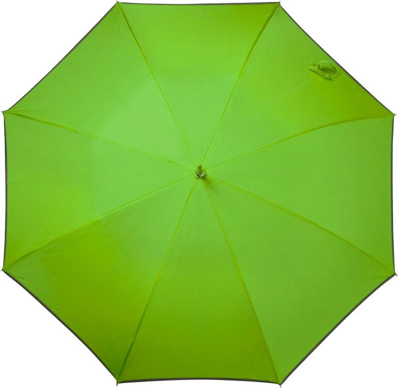 Automatische stormparaplu van pongee zijde (190T).