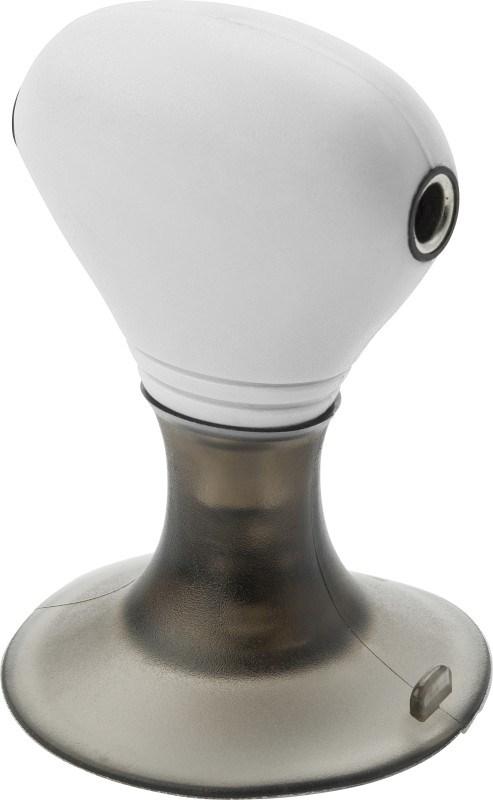 Telefoonstand met koptelefoon splitter