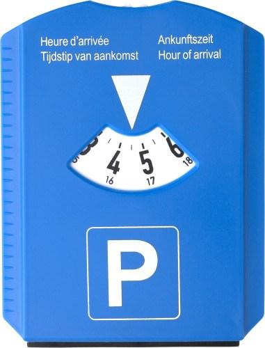 Ijskrabber/parkeerkaart