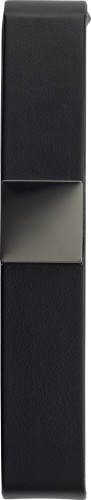 Luxe zwarte PU pen cassette, geschikt voor één pen