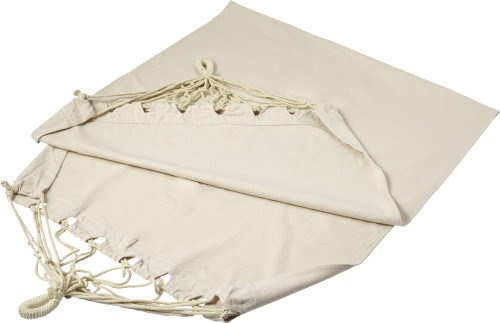 Polyester canvas hangmat, in pouch
