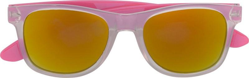Kunststof zonnebril (UV-400), gekleurde pootjes