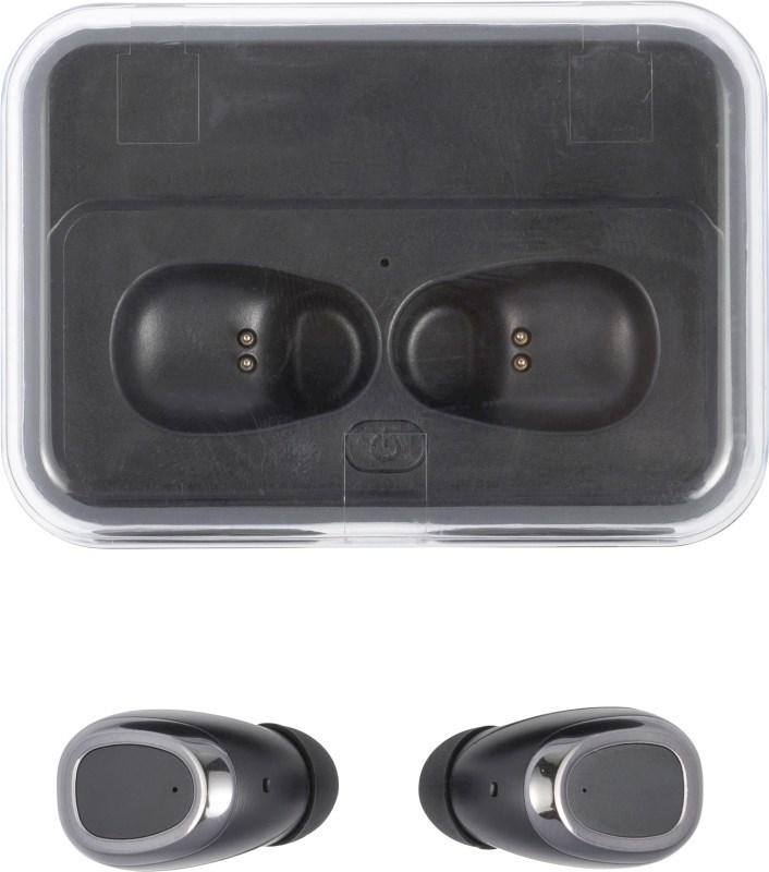 ABS draadloze oortelefoons met powerbank