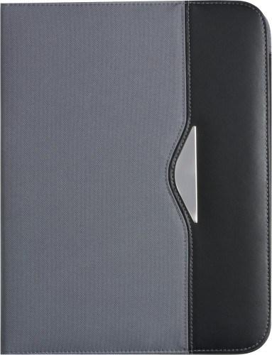 Documentenmap (A4) van nylon en bonded leather.