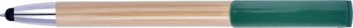 Bamboe balpen en stylus