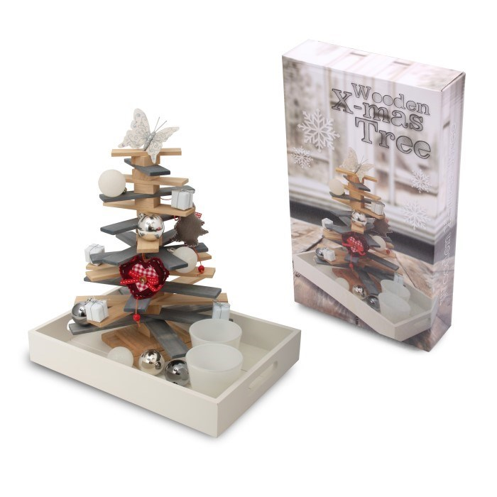 Wooden X-Mas Tree