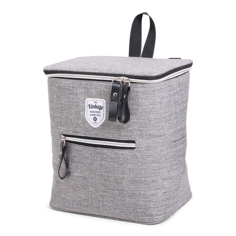 Twin Tone Bicycle Coolerbag Grey