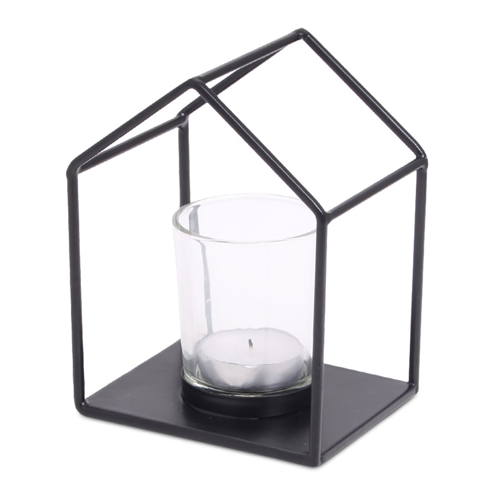 SENZA House Candle Holder (incl glass)