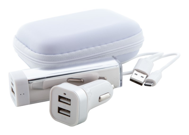 USB Power bank met lader