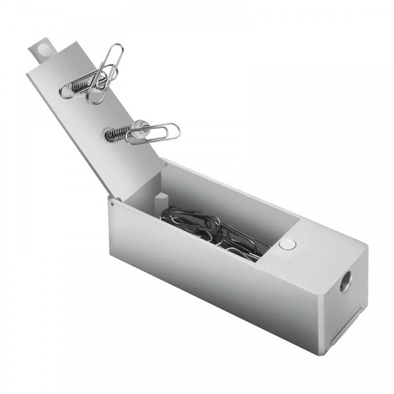 Papercliphouder met puntenslijper REFLECTS-KIRKWALL
