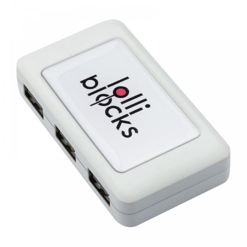 USB-hub met 4 poorten LOLLIBLOCKS-USB HUB