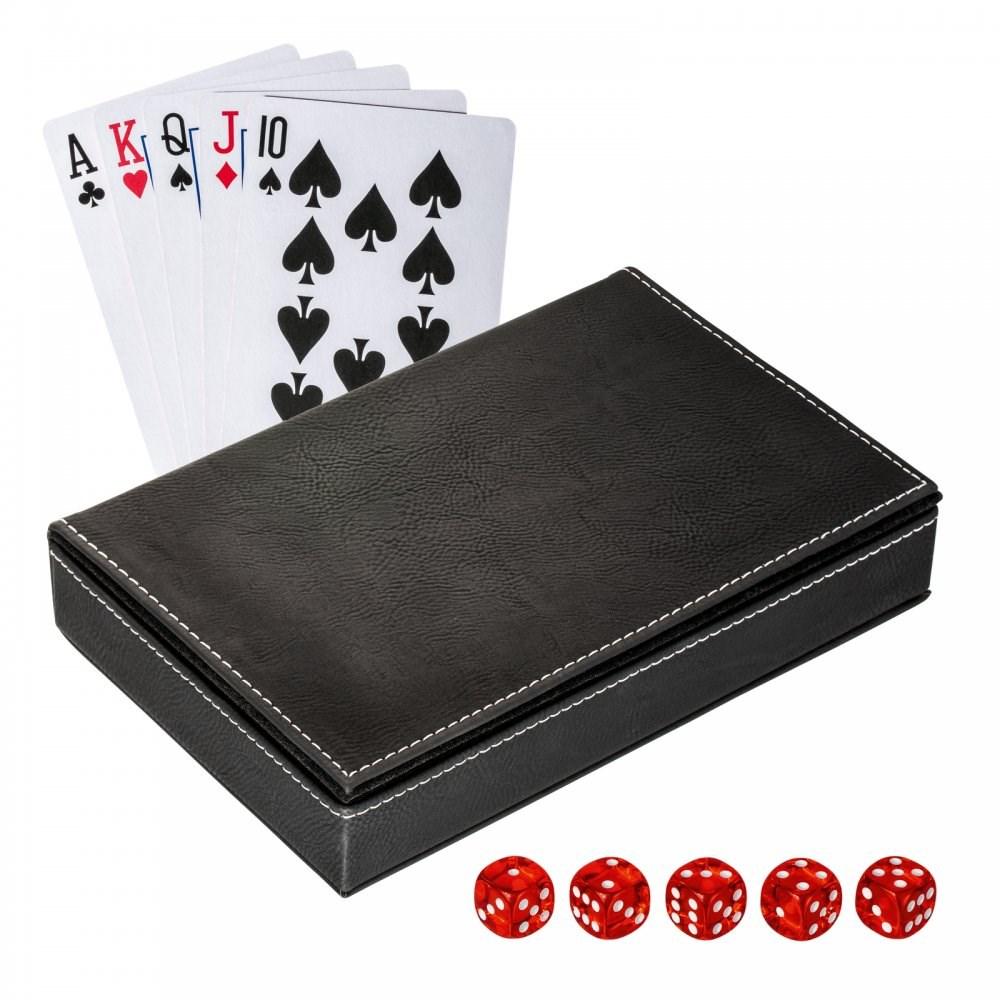 Speelkaartenset met box REFLECTS-SALAMINA