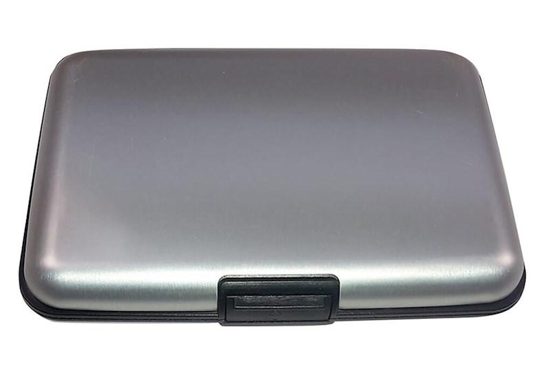 Metal Creditcard Holder Zilver acc Zilver