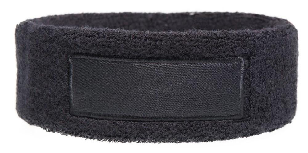 Hoofdband 18cm Met Label 9*3 cm Zwart acc. Zwart