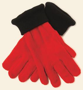 Nilton`s Handschoenen de Luxe 280gr/m2 Rood M/L