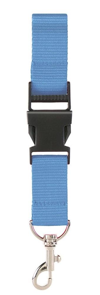 100% rPET Neklint 2,5cm Lichtblauw acc. Lichtblauw