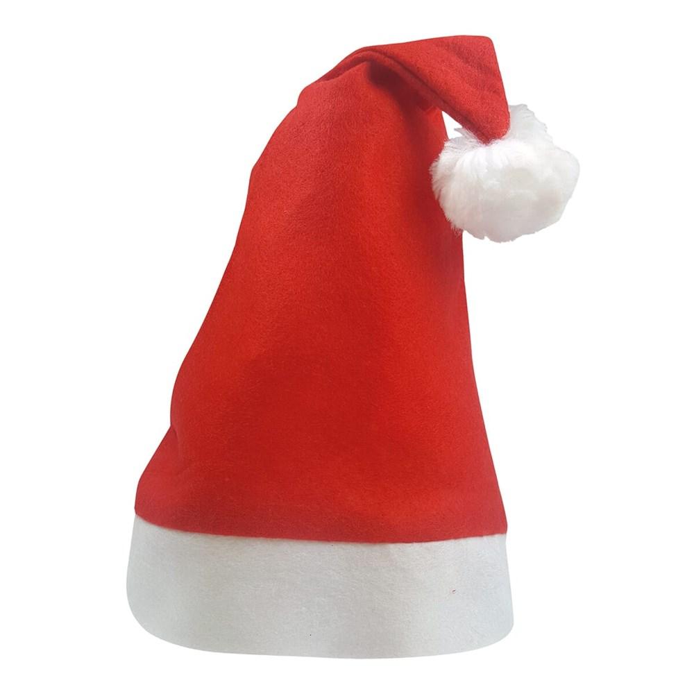 Kinder Kerstmuts Rood acc Wit