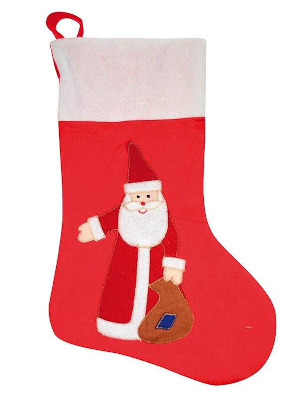 Kerstsok Kerstman 4126 cm