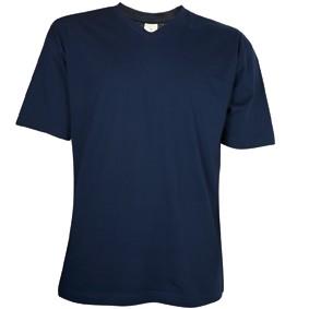 V-Hals T-Shirt 140 gr/m2 Navy XXL