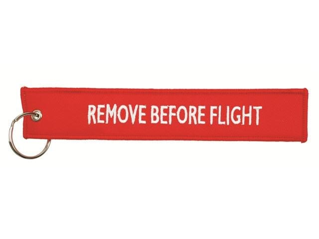 Remove before flight Hangtag 183 cm Rood acc Rood