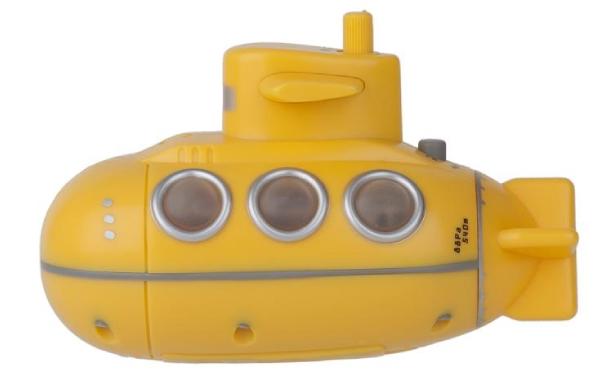 Showerradio,YellowSub,yellow,3xAAAincl