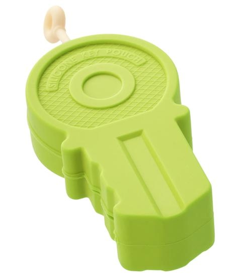 Key ring,Big Key,green,silicone