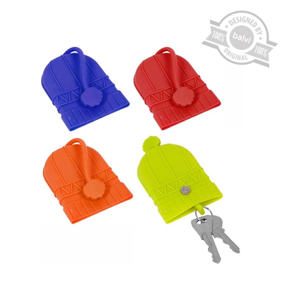 Key ring,Bonnet,display x16,silicone