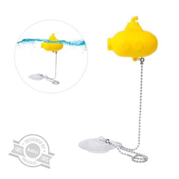 Bathtubplug,submarine,yellow