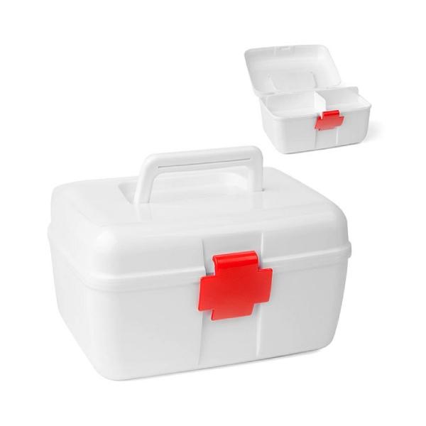 First-aidkitbox,L,plastic,white