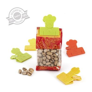 Foodbagclip,MrChef,x6,plastic