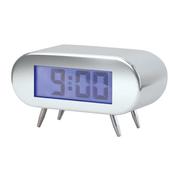 Alarmclock,BipBip,chrome,2xAAincl.