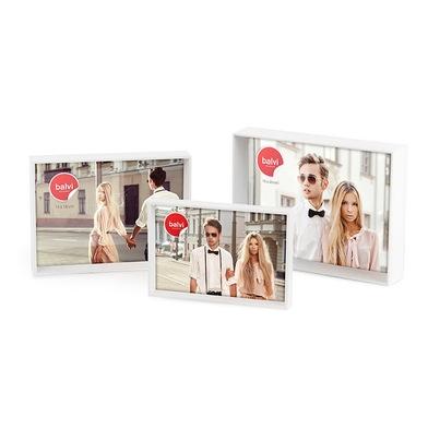 Frame,Viena,x3,white,plastic