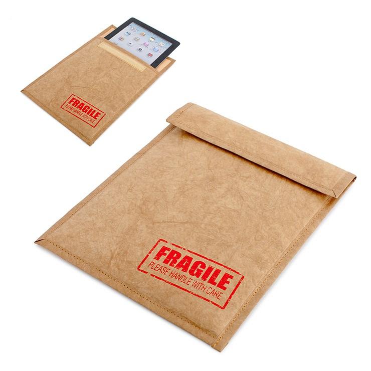 iPadcase,Fragile,tyvek