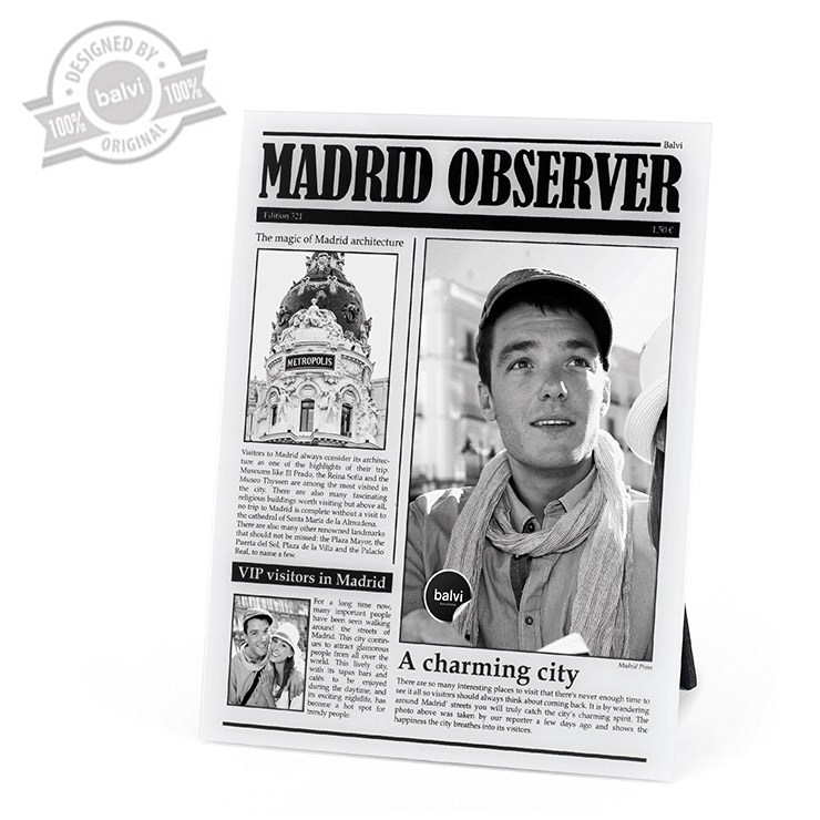Frame,MadridObserver,acrilic