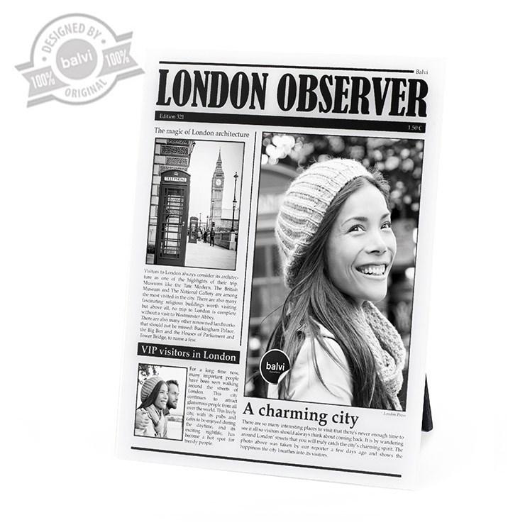 Frame,LondonObserver,acrilic