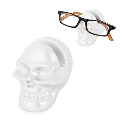 Eyeglassesholder,Skully,white