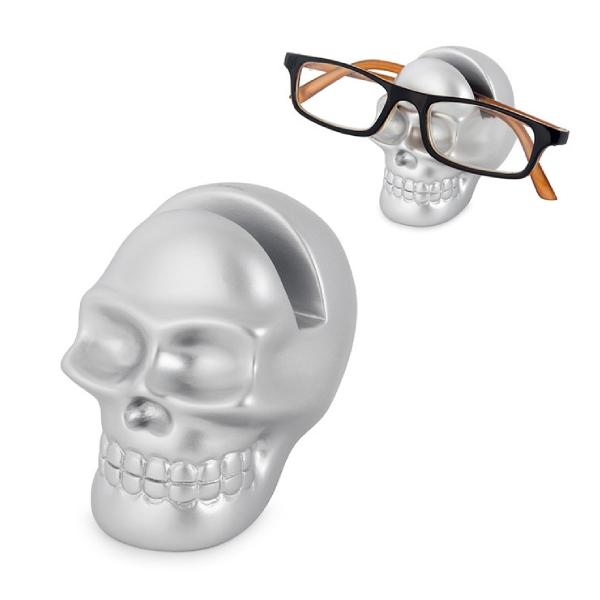 Eyeglassesholder,Skully,silver