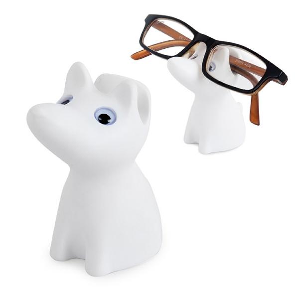 Eyeglassesholder,Puppy,white